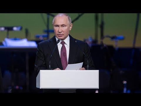 LIVE! Обращение Владимира Путина к нации в связи с эпидемией коронавируса