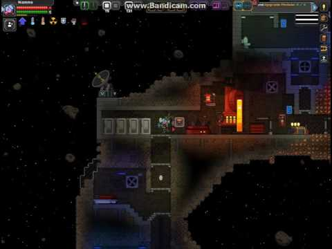 Modded Starbound: Asteroid Mining Operation