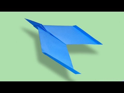 How Can I Make a Paper Jet Airplane - Best Color Paper Jet [Paper Plane] That Fly Far
