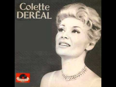 """Colette Dereal """" tu me feras danser """"  1962"""