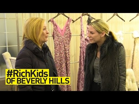 Morgan Has Private Dress Fitting With Badgley Mishka | #RichKids of Beverly Hills | E!
