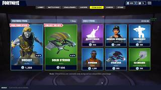 La peau de Chrome Fortnite en vedette boutique d'articles en vedette 'NEW' Diecast et Chromium