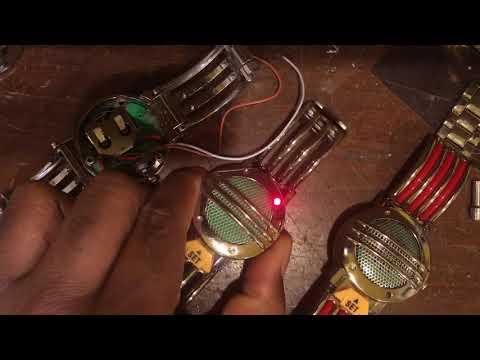 Modding the Power Rangers Legacy Communicator with new custom electronics!