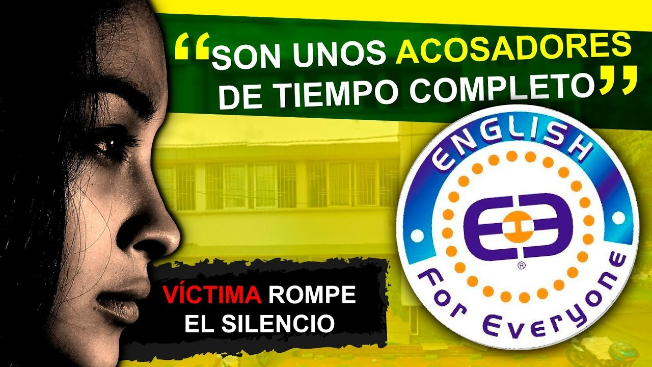 English For Everyone - Bucaramanga - Víctima Rompe el Silencio 2018