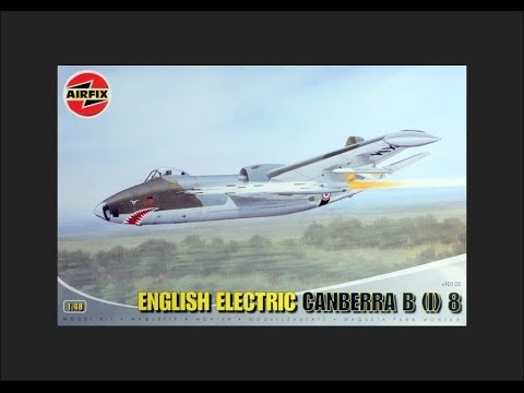 Airfix 1/48 English Electric Canberra B(I) 8 Scale Model Review