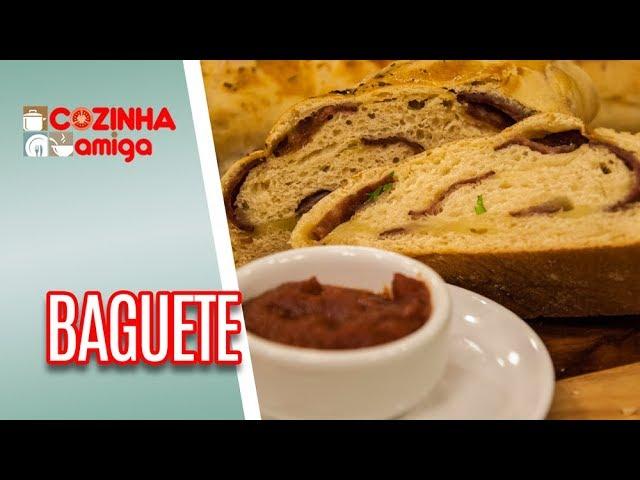 Baguete de calabresa com queijo coalho - Gabriel Barone | Cozinha Amiga (19/03/19)