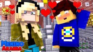 Minecraft: MENINO ARANHA - CONVIDEI A GWEN STACY PARA SAIR!!! #174