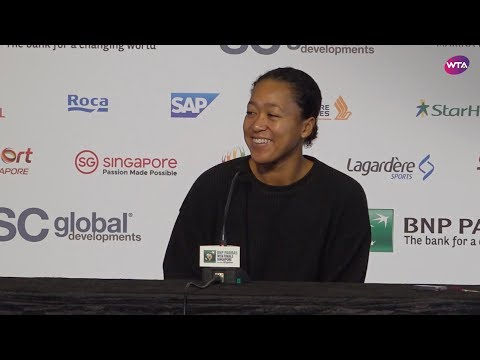 Naomi Osaka Pre-Tournament Press Conference | 2018 WTA Finals