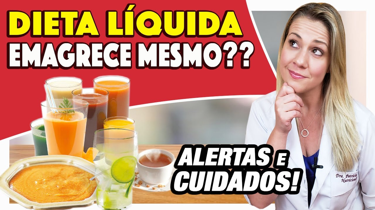 dieta liquida restrita para emagrecer