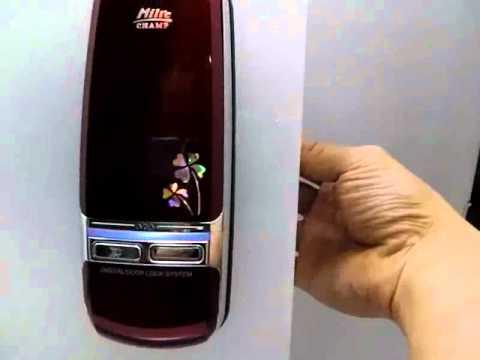 Milre Keyless Digital Door Lock Champ Korea Http Stores