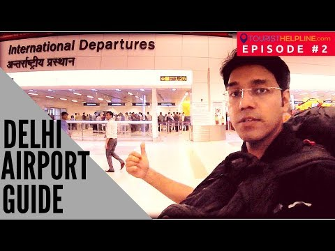 NEW DELHI AIRPORT TERMINAL-3 : Check in, Immigration, Security, Duty free (Everything Recorded)
