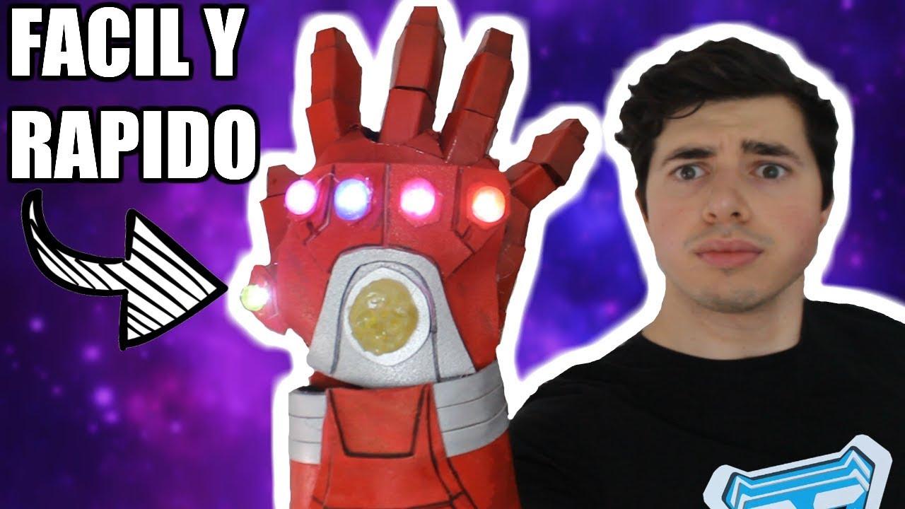 Como Hacer El Nano Guantelete De Tony Stark Facil Y Rapido Carlos Te Youtube