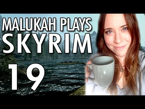 Malukah Plays Skyrim - Ep. 19: Eagle Swords and Forgotten Vigilances