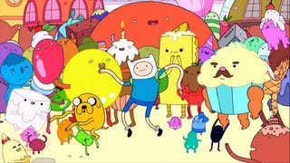Adventure Time - Land of Confusion (feat. Superjail!)