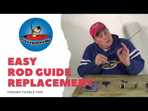 Easily Replace Broken Fishing Rod Guides and Eyes: Episode 98