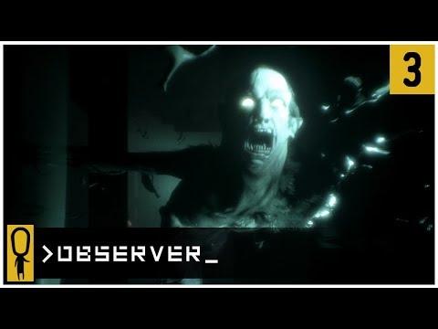 👁 AMIR NOVAK'S NEURAL INTERROGATION 👁 - OBSERVER Gameplay Ep 3 - Let's Play OBSERVER Walkthrough