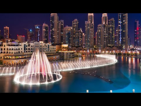 Dubai Musical And Amazing Dancing Fountain night show || 2020 || Burj Khalifa Dubai mall | Downtown