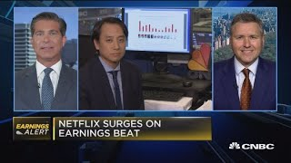 Netflix subscriber growth was a 'huge, huge beat': Expert