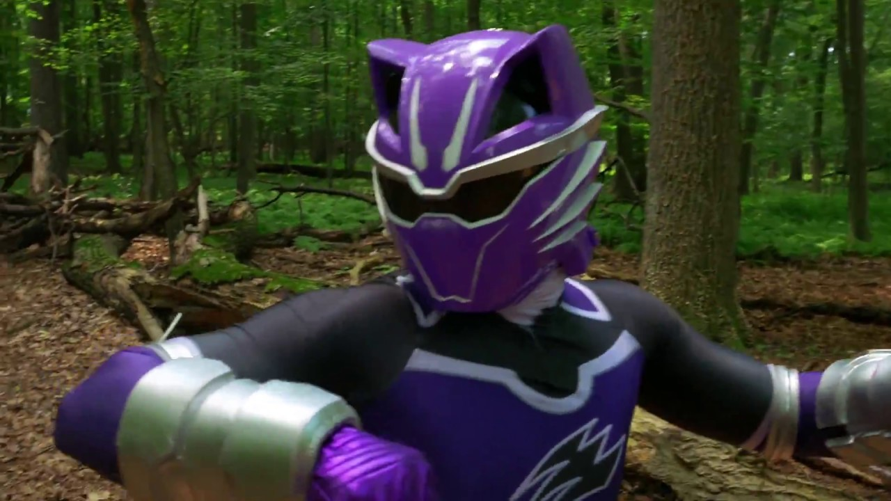 Power Ranger Jungle Fury Violet Wolf Ranger Rangers – Cover