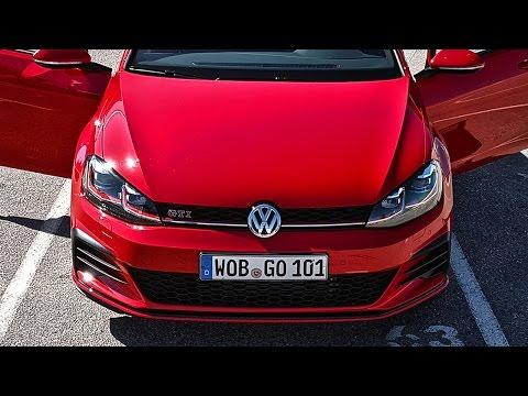 Почему так понравился новый GTI Тест VW Golf R 2017, Гольф ГТИ и Фольксваген Golf GTE