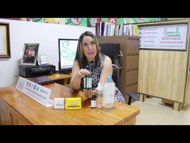 Acné y su manejo con medicina natural - Santo Remedio Panamá.