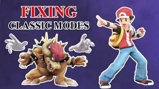 Fixing All Super Smash Bros Ultimate Classic Modes!