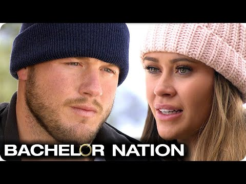 Colton Confronts Caelynn Over Becoming Next Bachelorette | The Bachelor US