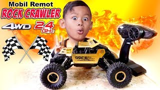 Unboxing Mobil Remot Offroad 4x4 4WD Body Besi (Alloy) | RC Car Rock Crawler 2.4GHz 1:18