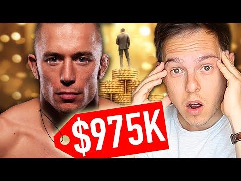 Millionaire Reacts: How Georges St-Pierre Spent His First $1M in the UFC