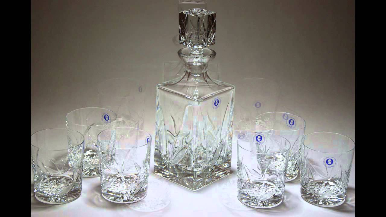 regalar decanter para whisky vasos de cristal para whisky youtube. Black Bedroom Furniture Sets. Home Design Ideas