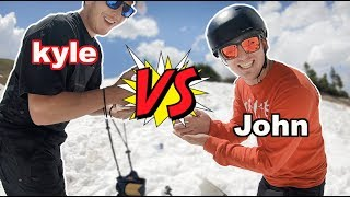 Game Of SNOW!! - Johnathan Buckhouse VS Kyle