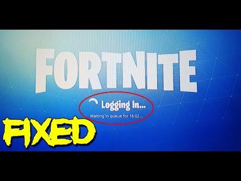 Fortnite Waiting In Queue Login Error Easy Fix Youtube