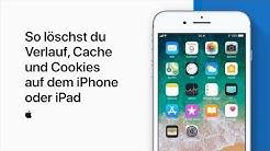 So löschst du Verlauf, Cache und Cookies auf dem iPhone oder iPad– AppleSupport