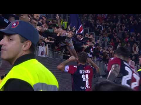 Il gol di Dessena (64') - Cagliari - Palermo 2-1 - Giornata 11 - Serie A TIM 2016/17