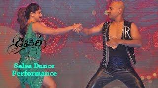 Sneha Kapoor Salsa Performance At Oopiri Audio Launch || Nagarjuna || Karthi || Tamannaah