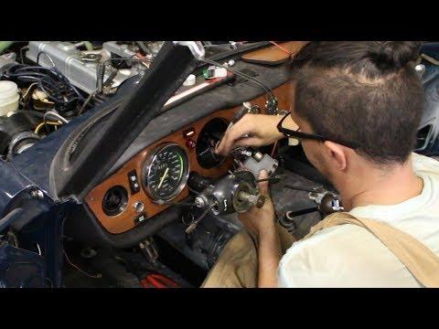 1973 Triumph TR6 Restoration - Part 27 - More Dash Wiring