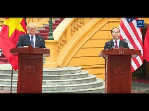 🔴President Trump Attends a State Banquet in Hanoi, Vietnam