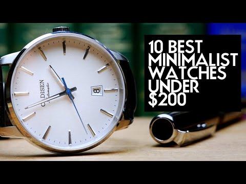 10 Best Minimalist Watches Under $200 - Daniel Wellington And MVMT Alternatives