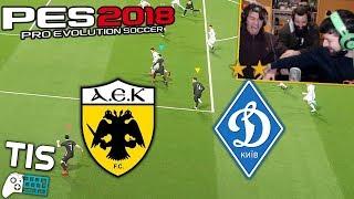 AEK - Dynamo Kyiv | 15/2/2018 - PES 2018