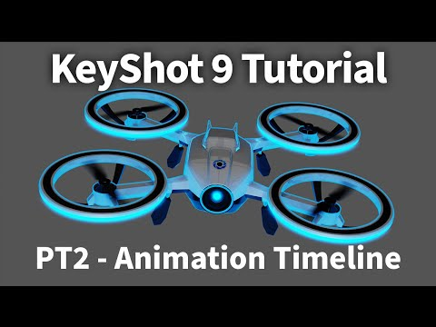 KeyShot 9 Animation Tutorial 02 - Navigating the Animation Timeline thumbnail