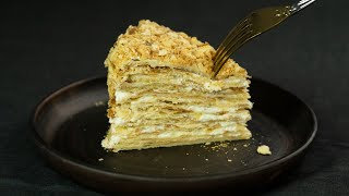 НАПОЛЕОН на КИСЕЛЕ Божественный торт Я ТОРТодел