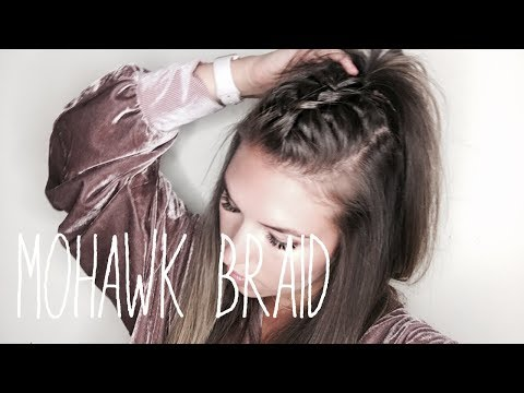 How To: Mohawk Braid Hair Tutorial (EASY!!)