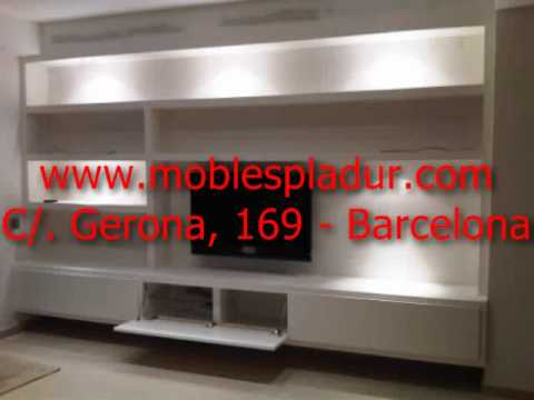 Muebles y estanter as de pladur youtube for Muebles de pladur para salon
