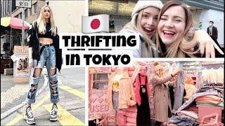 My First Time Thrift Shopping in Harajuku, Japan thumbnail
