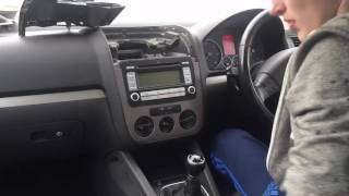 Mk5 Golf Rcd 510 Installation