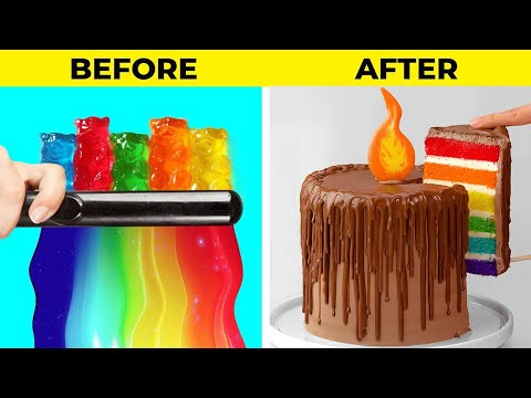 New Beautiful Chocolate Cake Ideas | Perfect Chocolate Cake Decorating Compilation | So Tasty Cake