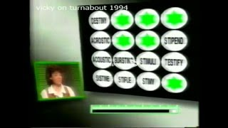 Game show Turnabout with Rob Curling 1996 from my VHS Tape.