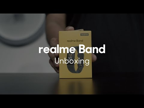 realme Band   Official Unboxing