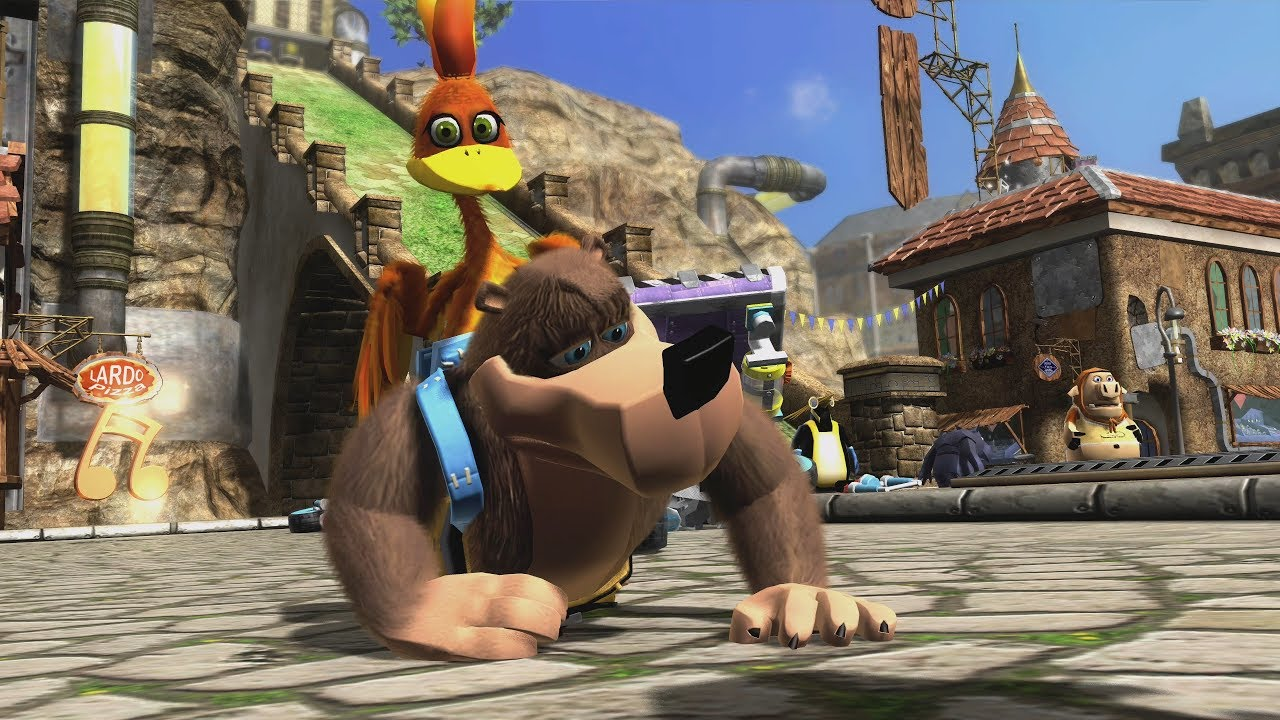 Banjo-Kazooie: Nuts & Bolts - Xbox One X Enhanced Backwards Compatibility |  13 Minutes of Gameplay