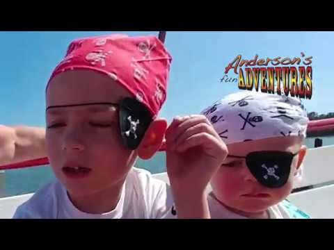 Pirate Adventure - Pieces of 8 Pirate Cruise - Dolphins Feeding - Anderson's Fun Adventures E14